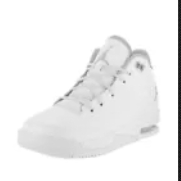 87b5120502a6 NIKE Jordan Flight Origin 3 White Metallic Silver.  M 5af9130105f430af37c7b120